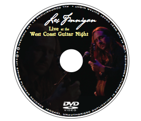 Les Finnigan - Live at the West Coast Guitar Night - Solo Acoustic Guitar DVD